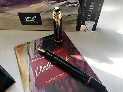 Montblanc Writers Edition 1995 Voltaire Estilográfica/Fountain Pen