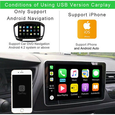 1X Apple/iOS Carplay USB Dongle Cable for Android Car  Navigation MP5 Head Unit