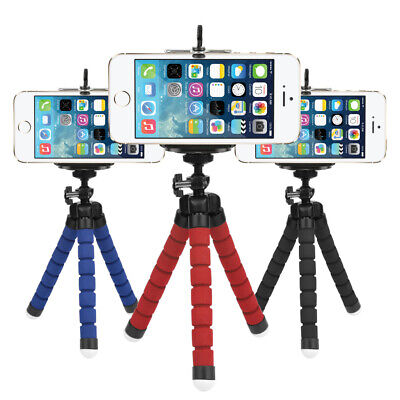 Mini Flexible Stand Octopus Tripod Mount + Free Holder For Smart Phone Universal
