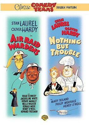 Laurel And Hardy : Air Raid Wardens / Nothing But Trouble for R2 NEW SEALED  DVD