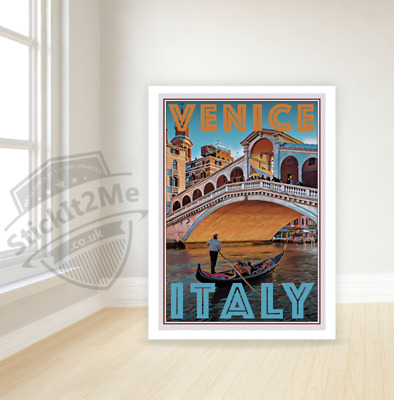 Art Deco Travel Posters Lovely Vintage Retro Holiday Tourism *Uniqu Venice Italy