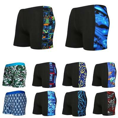 Men's Swimming Trunks Fashionable Comfortable quick-drying Print Swimming Shorts
