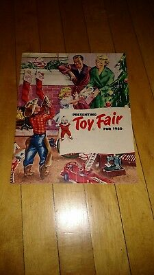 Vintage 1950 Toy Fair Christmas Catalog Unbranded