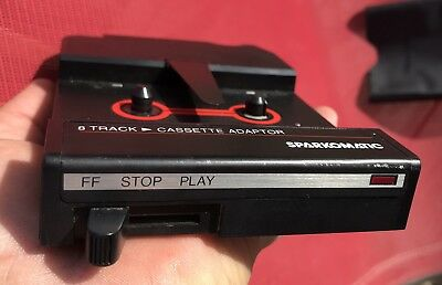 Sweet Sparkomatic 8 Track To Cassette Adaptor SCA 10 with case