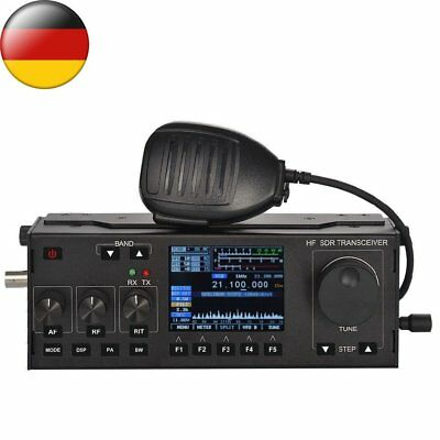 0.5MHz - 30MHz 10-15w RS-918 HF SDR Transceiver QRP Ham Radio with case V0.6 FR