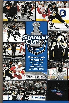 Pittsburgh Penguins v Detroit Red Wings 2008 Stanley Cup Final Game 6 Programme