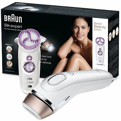 Braun Womens Silk-expert IPL Body Hair Removal System & Body Exfoliator - BD5009