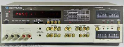 HP 4262A LCR Bridge 120Hz, 1kHz, 10kHz