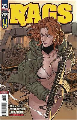 RAGS 2 2nd PRINT VARIANT NM ANTARCTIC PRESS ZOMBIES HOT COMIC