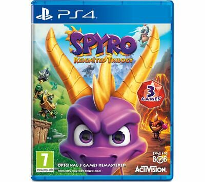 PS4 Spyro Trilogy Reignited - Currys