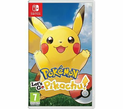 NINTENDO SWITCH Pokemon: Let's Go, Pikachu! - Currys