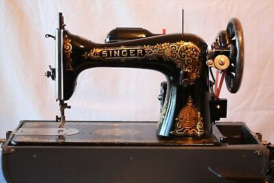 Singer 15 Antique Sewing Machine, 1914, Works