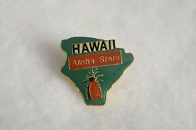 Hawaii State colorful lapel pin Nice NEW!!!