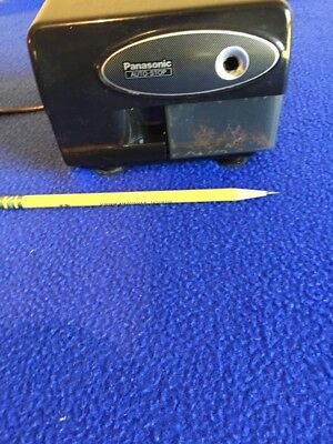 Used Panasonic Electric Pencil Sharpener Model KP-310 with Auto-Stop (Tested)