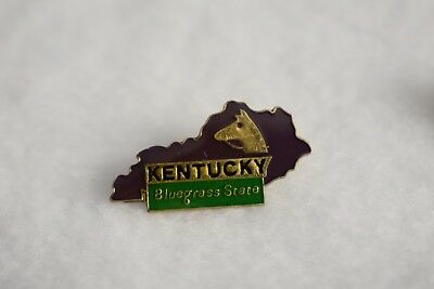 Kentucky State colorful lapel pin Nice NEW!!!