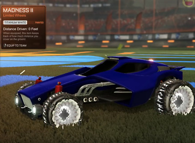 [XBOX ONE] ROCKET PASS 2 - ALL PAINTED MADNESS II WHEELS for Rocket League!