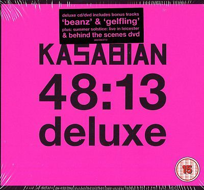 Kasabian 48:13 Cd+Dvd Deluxe Edition Nuovo E Sigillato !!