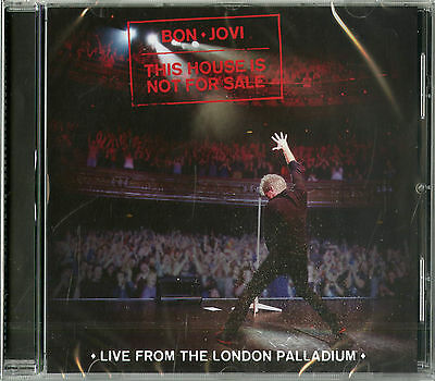 Bon Jovi This House Is Not For Sale Live From The London Palladium Cd Nuovo !