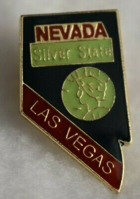 Nevada State colorful lapel pin Nice NEW!!!