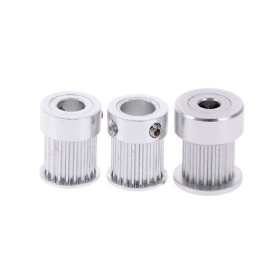 20 teeth GT2 timing pulley for 3D printer bore 5/ 6.35/ 8mm for aluminium gear—H