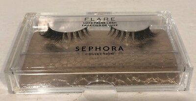 94f06159009 Sephora Flare Lashes Luxe False Lash In Clear Case Natural Hair New &  Sealed!