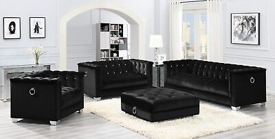 Outstanding Modern Hollywood Glam Living Room 3 Piece Sofa Loveseat Uwap Interior Chair Design Uwaporg