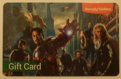 NEW DC Superheroes,Hulk,Ironman,Thor,Captain America GIFT CARD No Cash Value