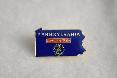Pennsylvania State colorful lapel pin Nice NEW!!!