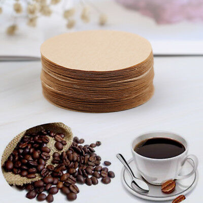 100Pcs Per Pack Coffee Maker Replacement Filters Paper For Aeropress wJH