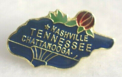 Tennessee  State colorful lapel pin Nice NEW!!!