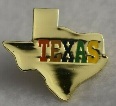 Texas State colorful lapel pin Nice NEW!!!