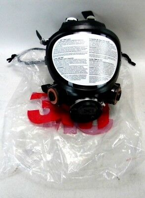 3M # 7884 Full Face Respirator With Filter Fittings. Gas Mask. Riot Gear (3A-3)