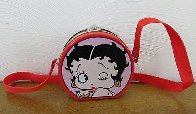 Betty Boop Collectible Tin Mini Purse Lunchbox 1998 King Features Syndicate