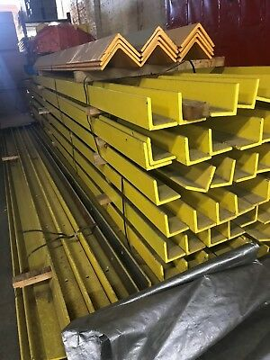 Used Steel Angle punched for Aisle Guides x 20', Chicago
