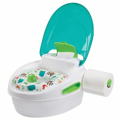 Summer Infant Step By Step Potty Kid's Toilet Trainer Soft Seat Stand Neutral