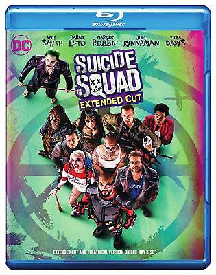 Suicide Squad (Blu-ray, DVD, Digital HD) Extended Cut