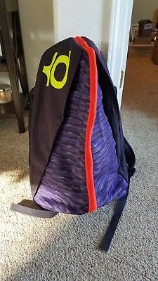 Nike KD VIII 8 Max Air Backpack Purple Crimson Volt Basketball Sports BA5067 -565 d547499e3d028