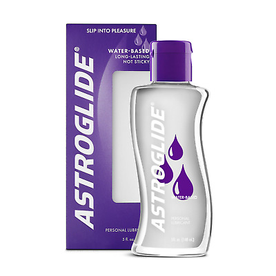 Astroglide Liquid Water Based Personal Sex Lubricant 5 oz