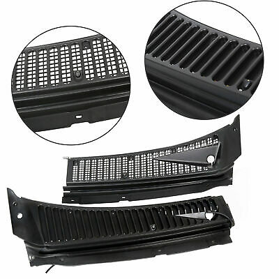 For Ford 99-07 F250 F350 Windshield Wiper Vent Cowl Screen Cover Grille Panel