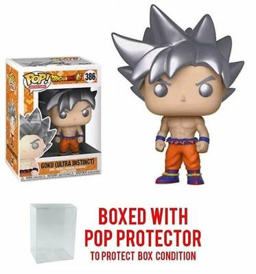 Dragon Ball Funko Pop #386 GOKU (ULTRA INSTINCT)  Vinyl Figure New in Box
