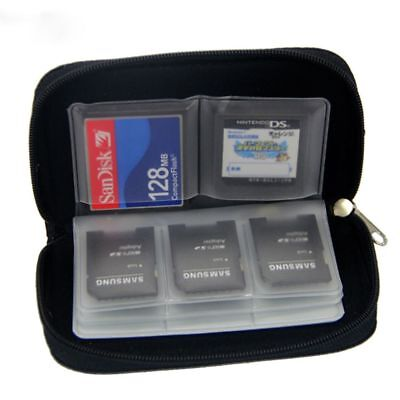Memory Card Storage Carrying Case Holder Wallet For SDHC HC MMC CF