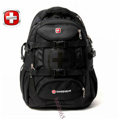 SWISS GEAR Men Women Waterproof Travel Business 15.6 Laptop Backpack School Bag