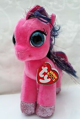 1a21eed909c Ty Beanie Boos RUBY the Cerise Pony Boo.16cm tall Original Plush Toy From Ty