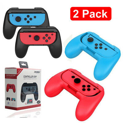 For Nintendo Switch Joy-con 2 Pack Controller Handle Grip Holder  Case Cover