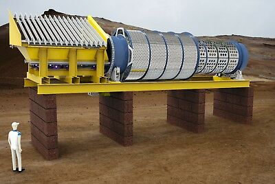 Trommel Screens New and Used, Screening Buckets, Recycling Plant