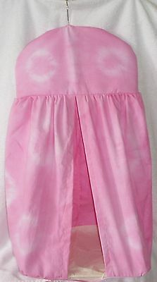 Pink  tie dyed Nappy Stacker