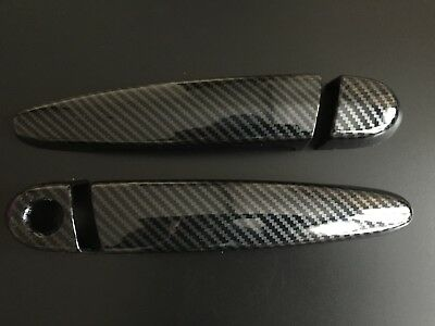 Carbon Door Handle Covers Fits Bmw 3 4 Series M M3 M4 F80 F82 F83 Coupe
