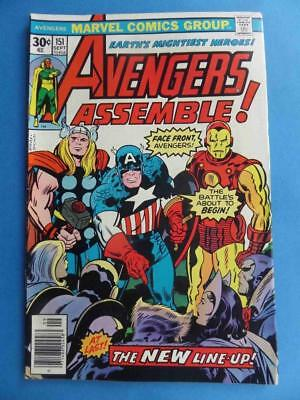 Avengers 151 1975 Perez! Kirby Cover!