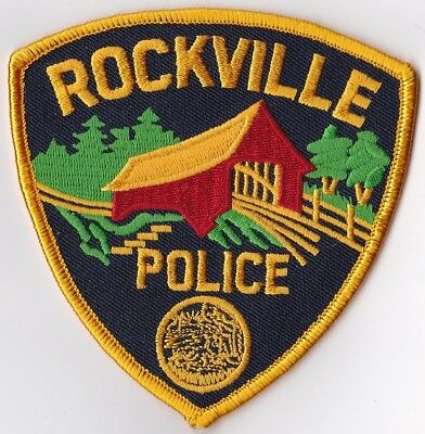 Rockville Police Patch Indiana IN