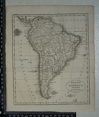 1808 - Map of South America - J Russell